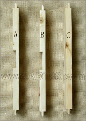 Compare Cross braces A, B and C