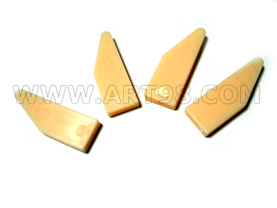 Corner wedges key
