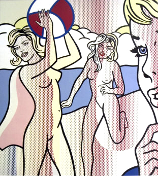 Pop Art Roy_Lichtenstein-00037-Nudes%20with%20Beach%20Ball