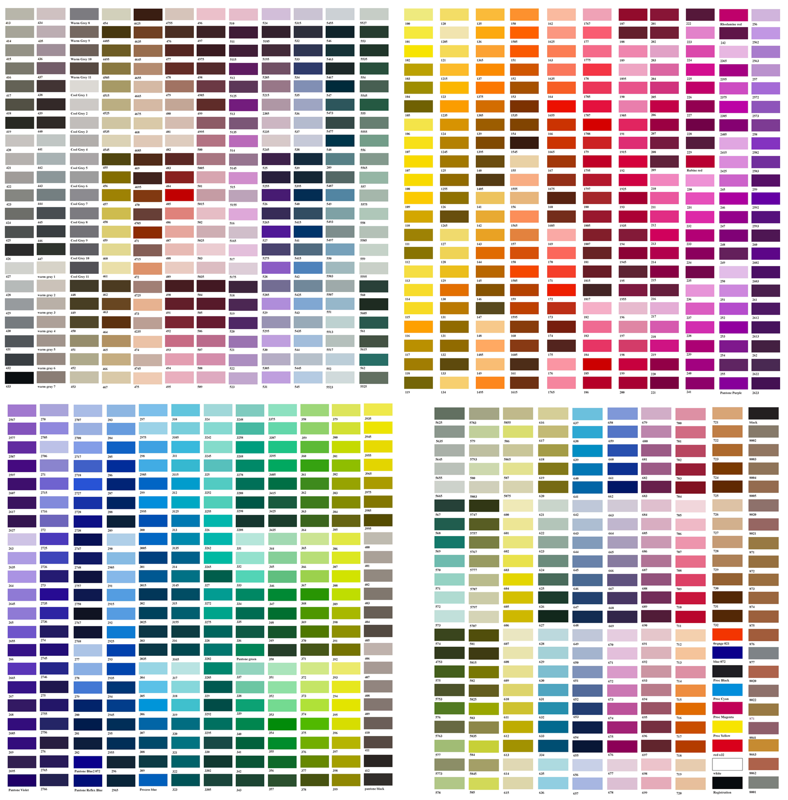 Sikkens car paint color chart